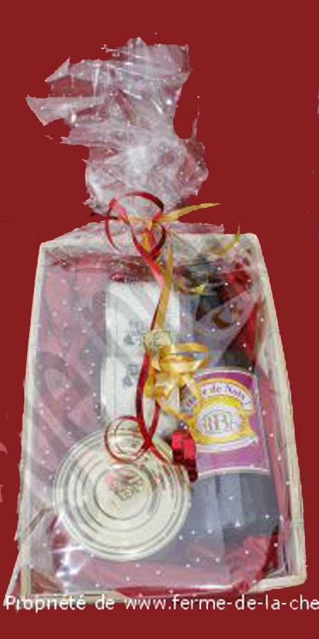 Découvrez les paniers gourmands de la Ferme de la Chênaie : une formidable idée cadeau pour faire plaisir à vos proches !