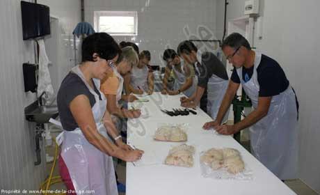L'atelier se déroule à la ferme et dure environ 3 heures.